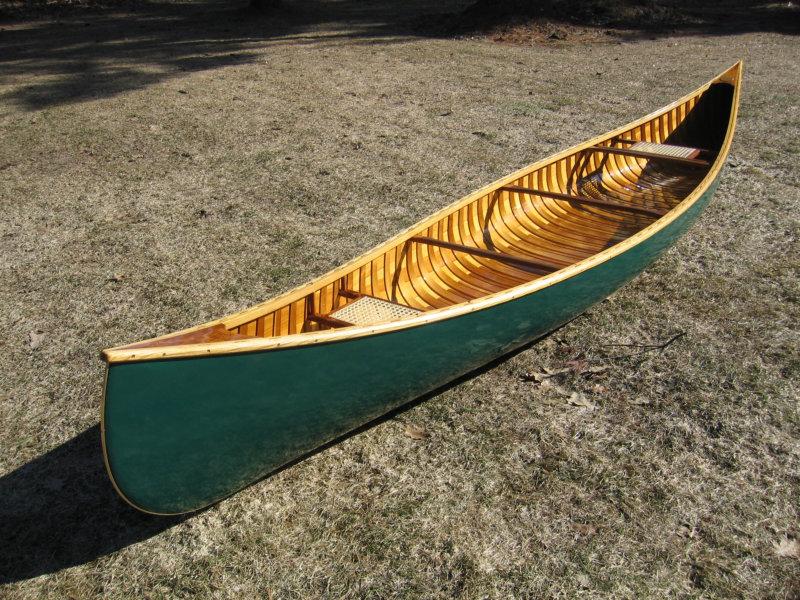 Cedar Strip Canoes at Kerr Canoes