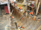 wood canoe for sale, canoe planking, cove and bead canoe strips